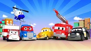 مدينة السيارات - Official Live Stream - رسوم متحركة للأطفال 🚓 🚒