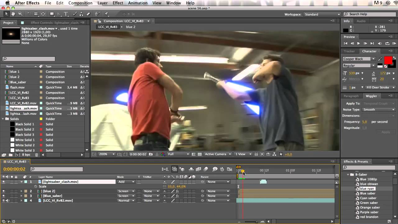 Complete lightsaber tutorial clashes round the ends ilm quality complete lightsaber tutorial clashes round the ends ilm quality adobe after effects youtube baditri Images