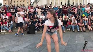 видео: танцы( уличные батлы) на Майдане Независимости. 2 выпуск