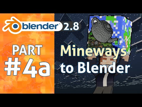 How To Use Mineways In 1 Minute | Blender 2.8 Minecraft Animation Tutorial #4a