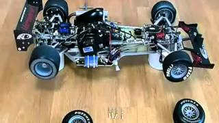 汽油遙控車引擎測試 remote oil car engine testing