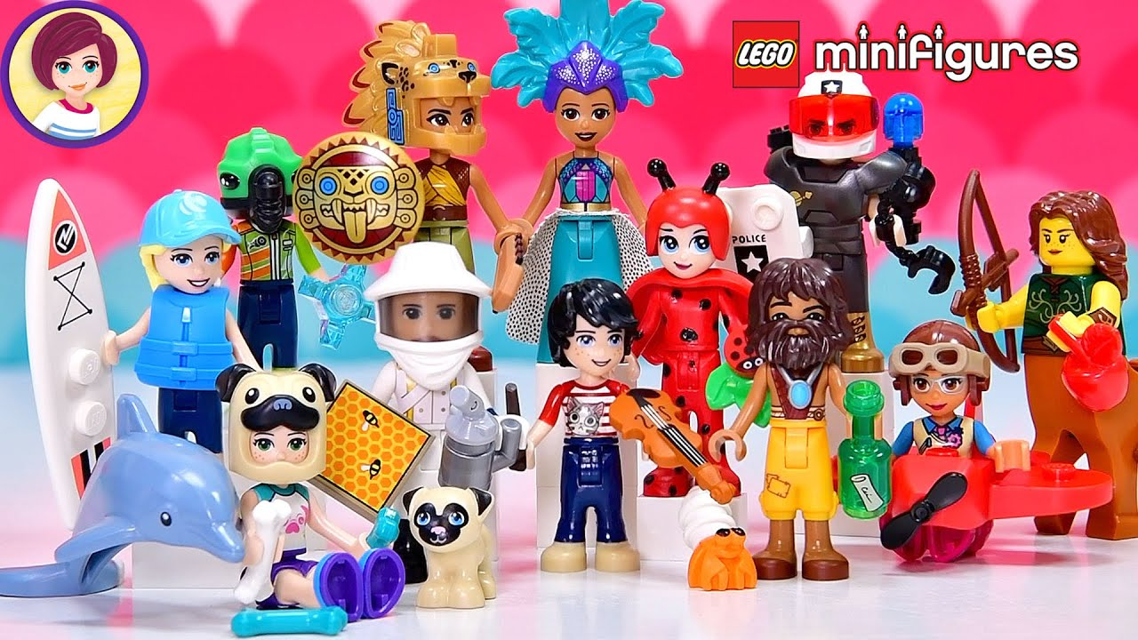 Opening a complete set of minifigures series 21......and then turning them into minidolls