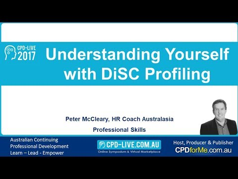 PREVIEW - CPD-LIVE 2017 - Understanding Yourself with DiSC Profiling - Peter McLeary