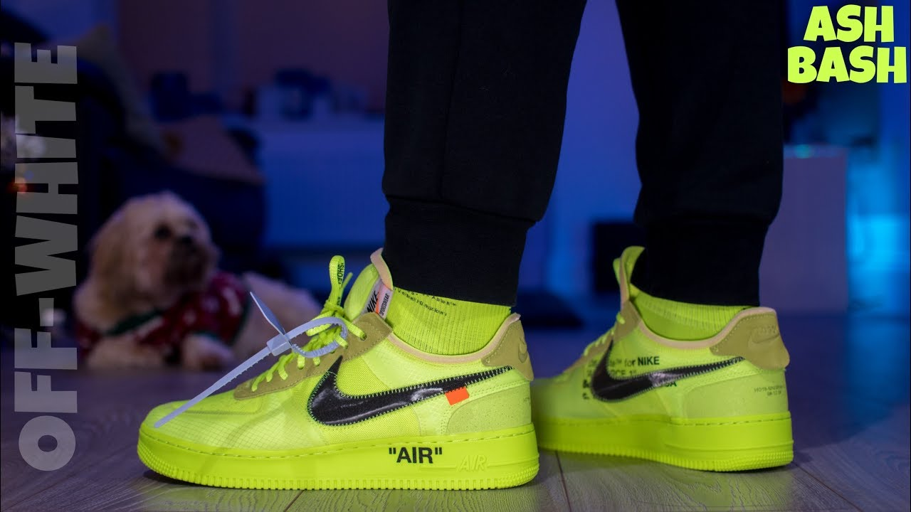 nike air force 1 off white verdi