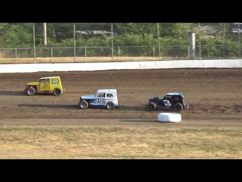 Grays Harbor Raceway, July 15, 2017, PHRA Dwarf Cars Heat Races 1,2 and 3