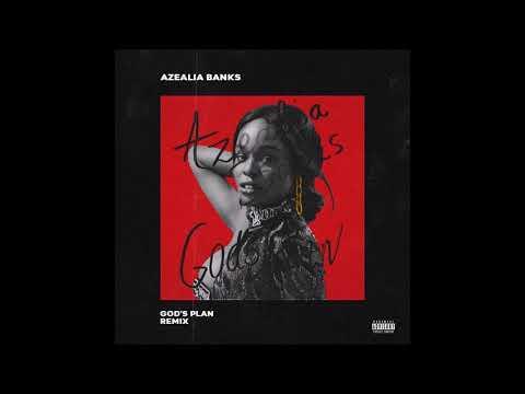 """Azealia Banks   """"God's Plan"""" Remix Freestyle"""