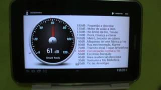 Samsung Galaxy Tab P6210 - APP Decibelímetro - PT-BR - Brasil