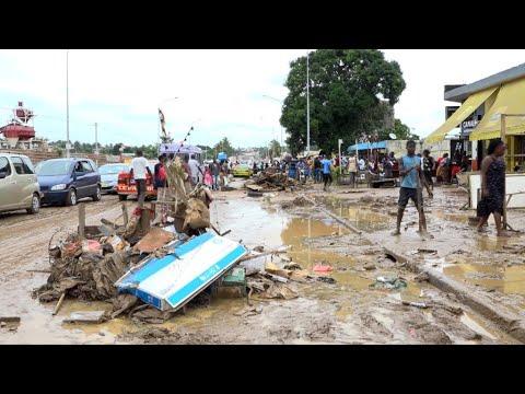 Inondations en Côte d'Ivoire, au moins 18 morts à Abidjan