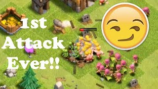 Clash of Clans - My 1st Attack!