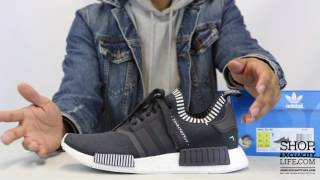 Adidas NMD PK Runner Dark Grey   Unboxing Video at Exclucity