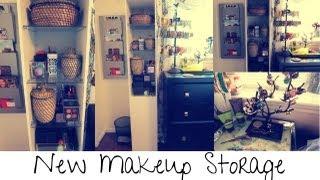 New  Makeup Storage