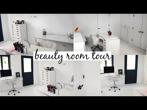 Beauty Room Tour & Makeup Collection 2017 l Olivia Jade