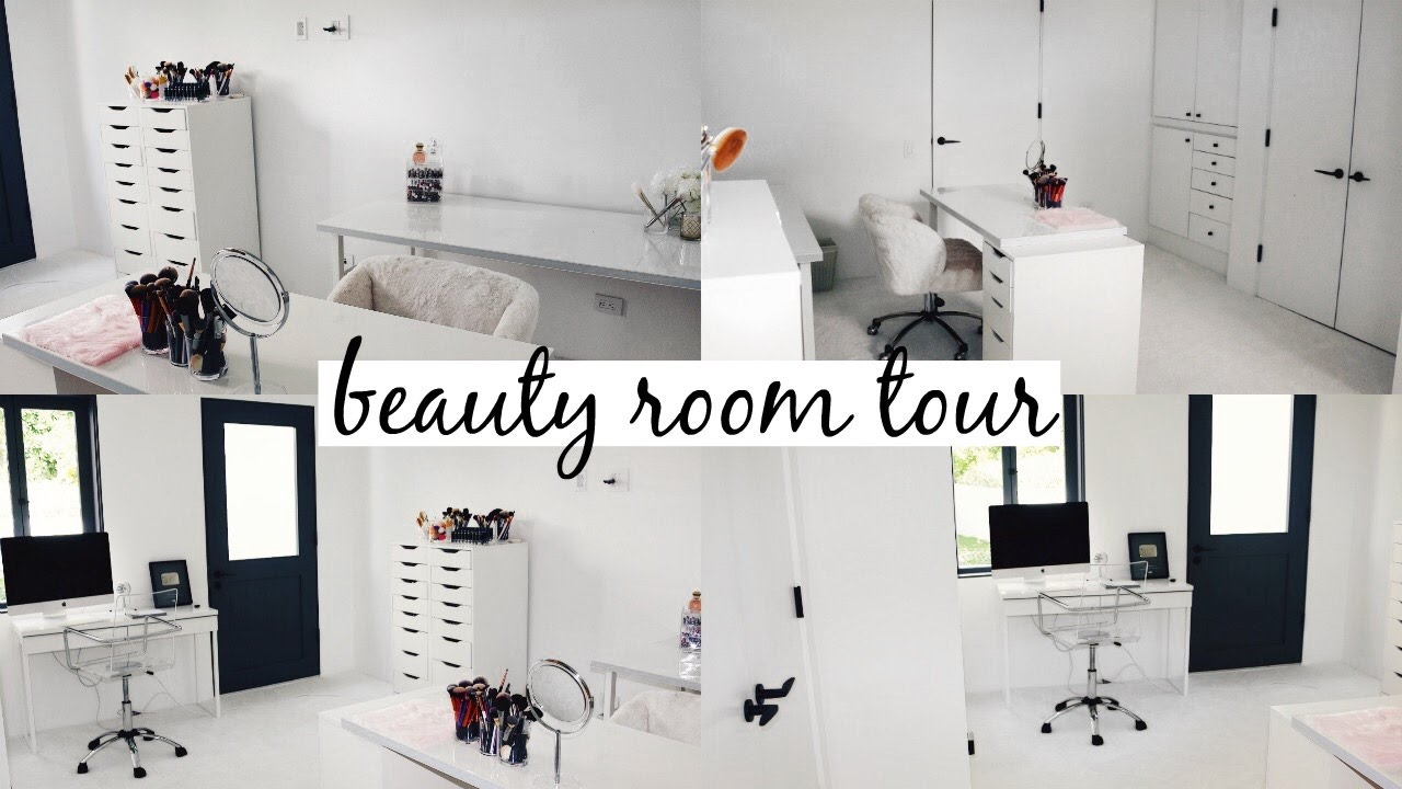 Beauty Room Tour & Makeup Collection 14 l Olivia Jade