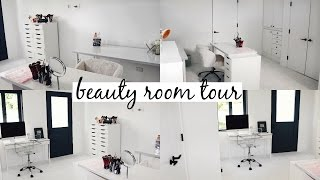 Beauty Room Tour & Makeup Collection 2017 l Olivia Jade