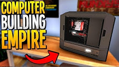 RUNNING OUR OWN PC BUILDING & COMPUTER REPAIR BUSINESS - PC Building Simulator Gameplay