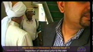 Inspection of Duties at Jalsa Salana UK 1998 and Address to Workers