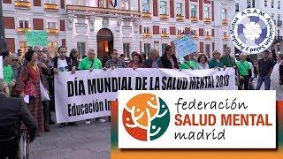 ASAM: Manifestación por el Dia Mundial de la Salud Mental 2018
