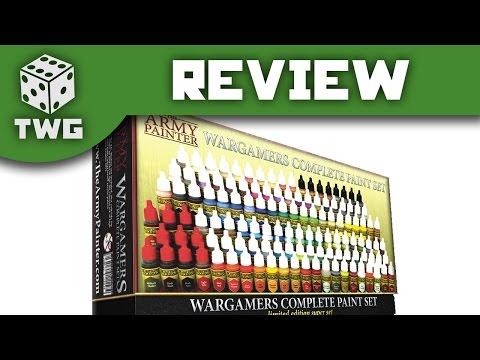 Paint Review: Army Painter Complete Paint Set Unboxing