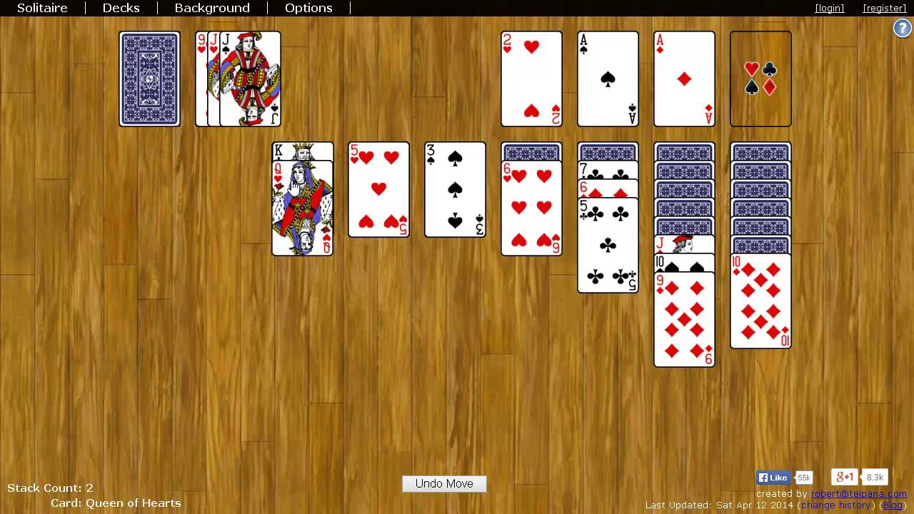 Klondike Solitaire - How to Play - YouTube