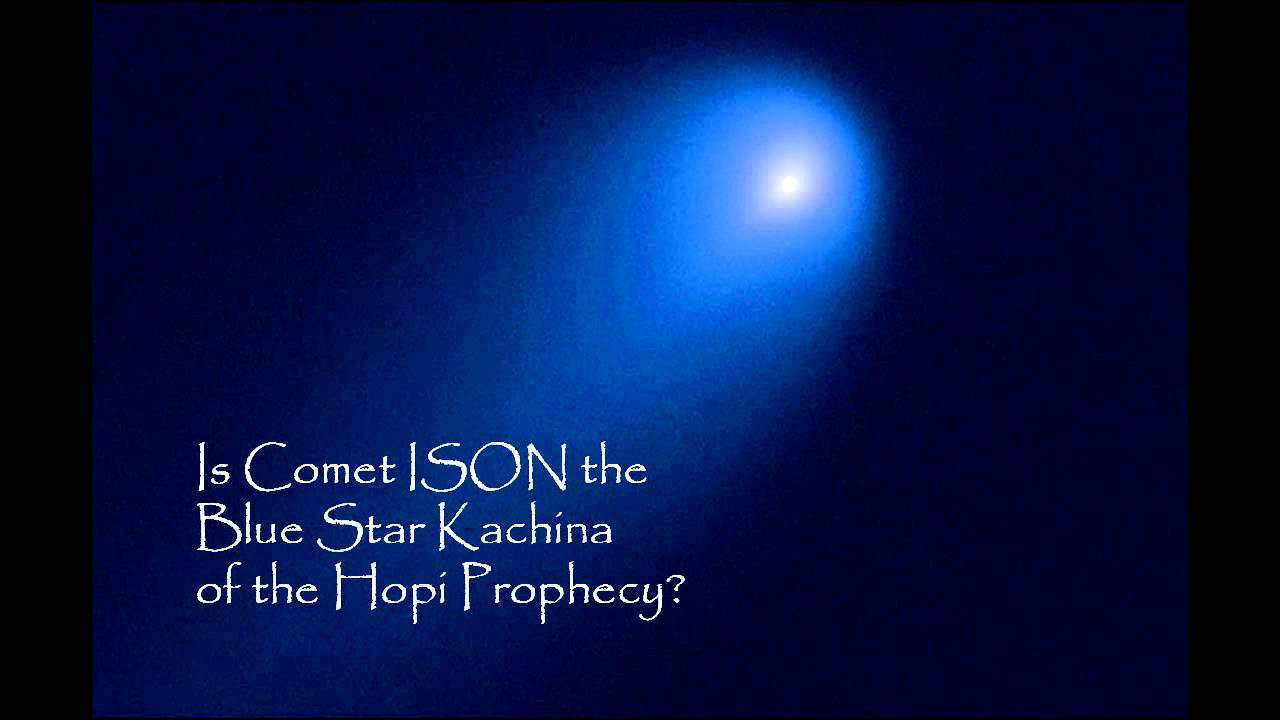 Hopi Blue Star Comet ISON - Pics about space