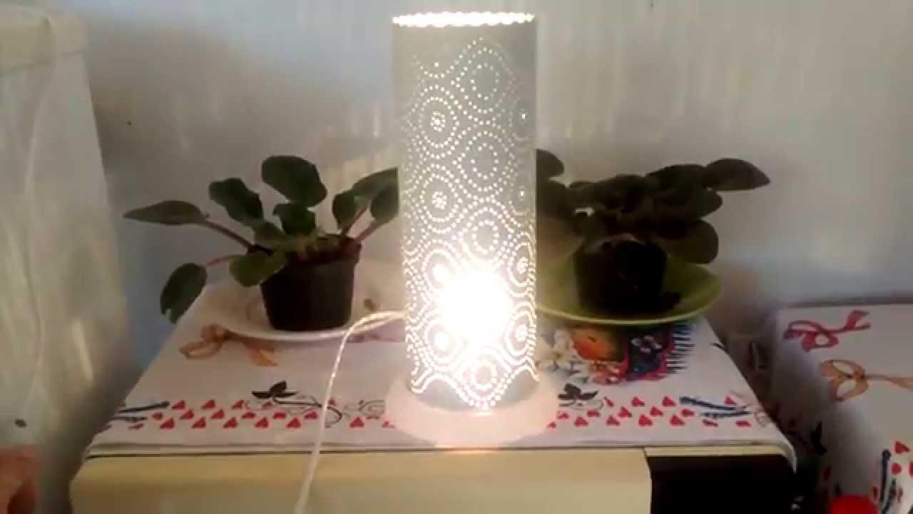 Luminria feita com Cano de PVC  Artesanatos  YouTube