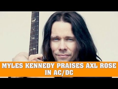 Myles Kennedy Praises Axl Rose in AC/DC & Plays Wikipedia Fact or Fiction