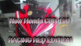 HONDA CBR 150R RACING RED