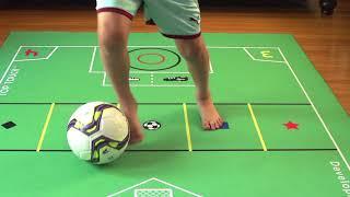 DEVELOPMAT 30 Second soccer  SKILLS CHALLENGE!!  | STEPOVER