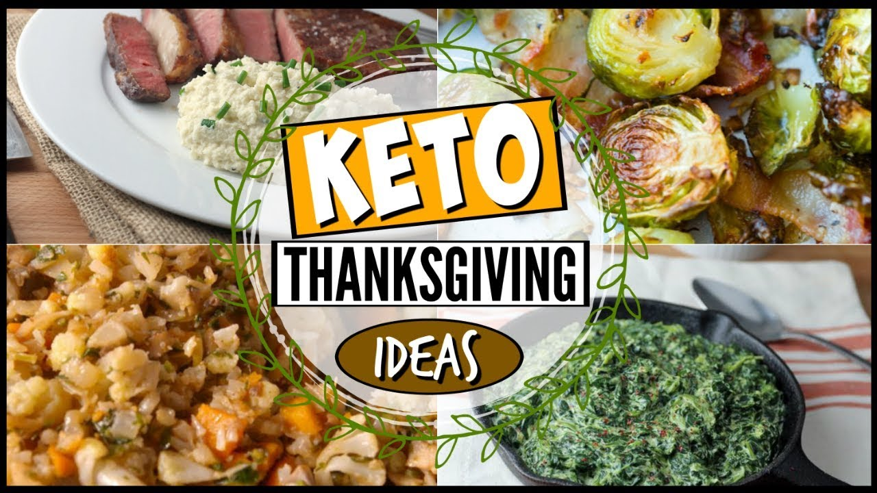 🔥LOW CARB / KETO THANKSGIVING RECIPE IDEAS + INSPIRATION + DINNER +  DESSERT + SIDE DISHES