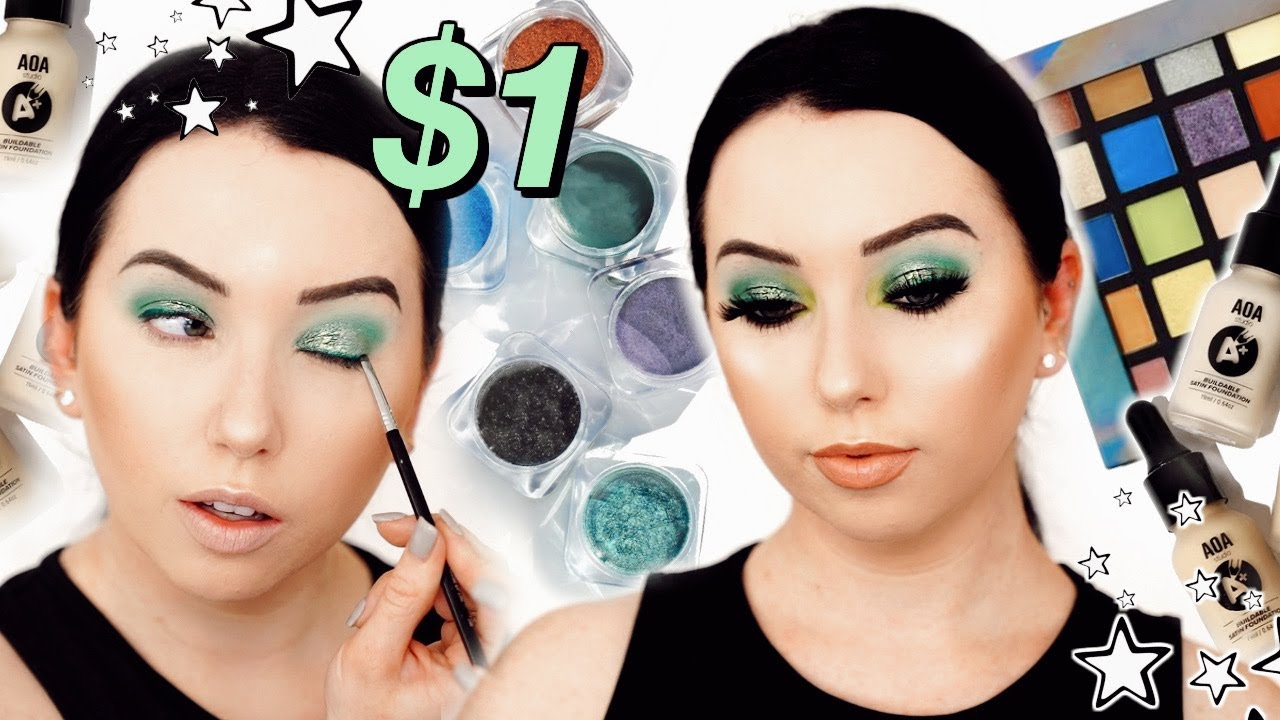 $1 AFFORDABLE MAKEUP THAT''S ACTUALLY GOOD! New ShopMissA Makeup