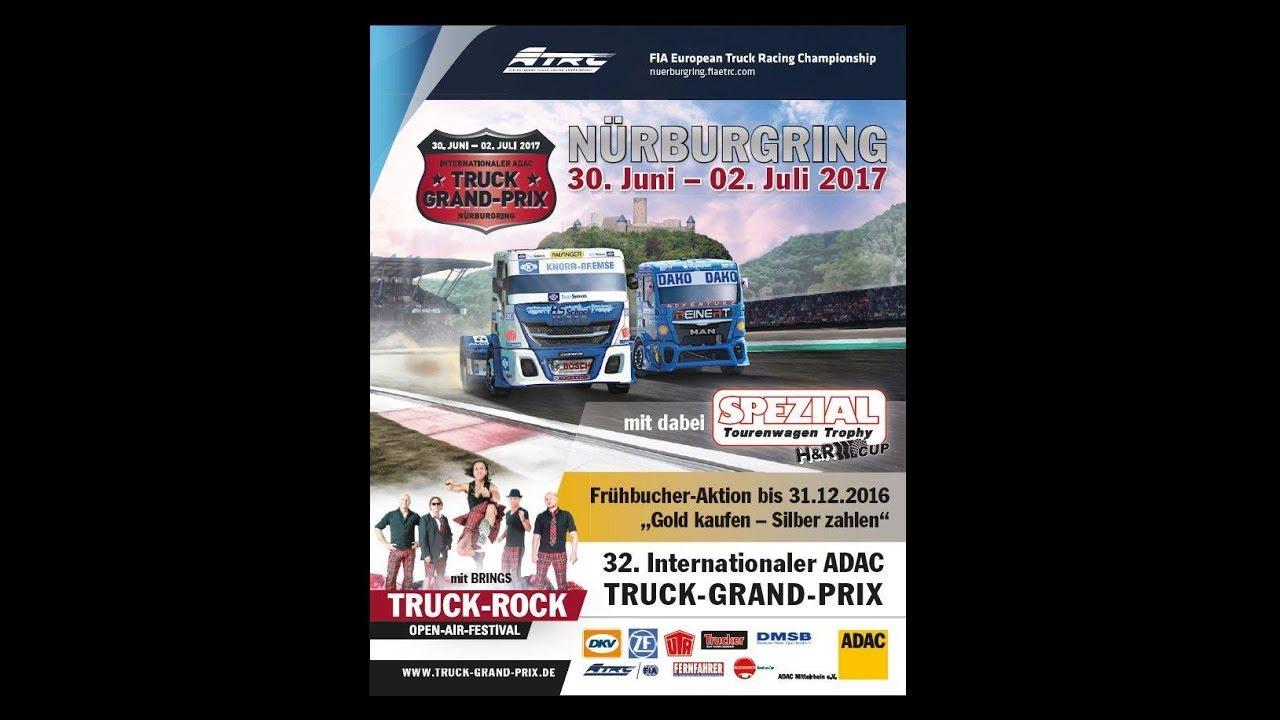Adac Truck Grand Prix Nürburgring 2017 Youtube