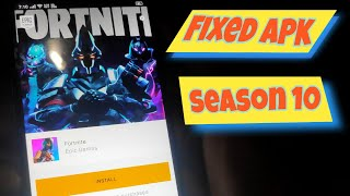 (SEASON 10) Fix Fortnite Device Not Supported without root VPN Error Fixed | Play Now in 2GB Devices