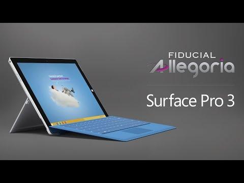 Fiducial Allegoria et Surface Pro