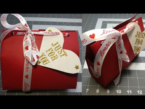 Paper Gift Bag/ Valentine's day gift ideas