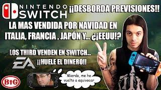 ¡¡SWITCH DESBORDA PREVISIONES NAVIDEÑAS!! ¿¡Pachter!? | ¡¡LOS THIRD VENDEN Y EA SE APROVECHA!! | BtG