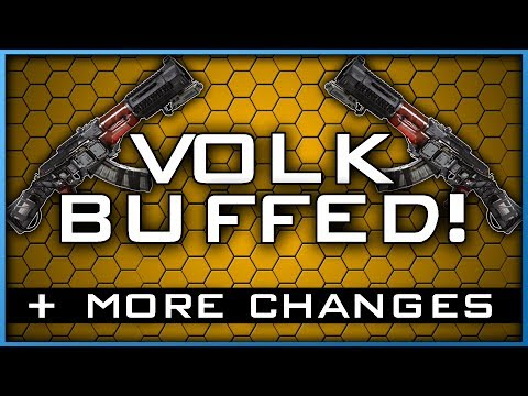 The Volk Has Been Buffed! + Other Weapon Balancing Changes in Infinite Warfare!!