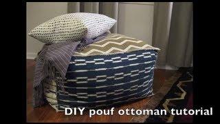 Chevron - Diy Pouf Ottoman