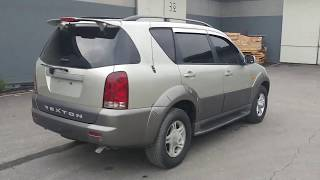 [Autowini.com] 2002 Ssangyong Rexton RX290 4WD SUNROOF A/T