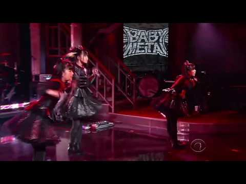 BABYMETAL - Gimme Chocolate!! - ギミチョコ!!- The Late Show