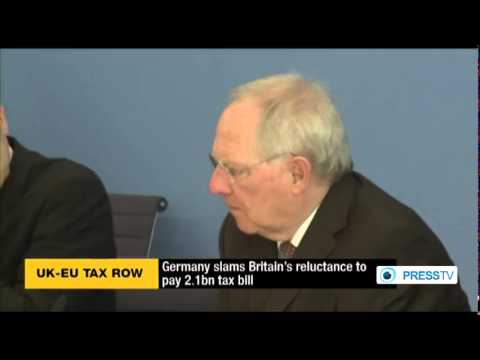 Germany urges UK to pay EU's €2 1 tax bill