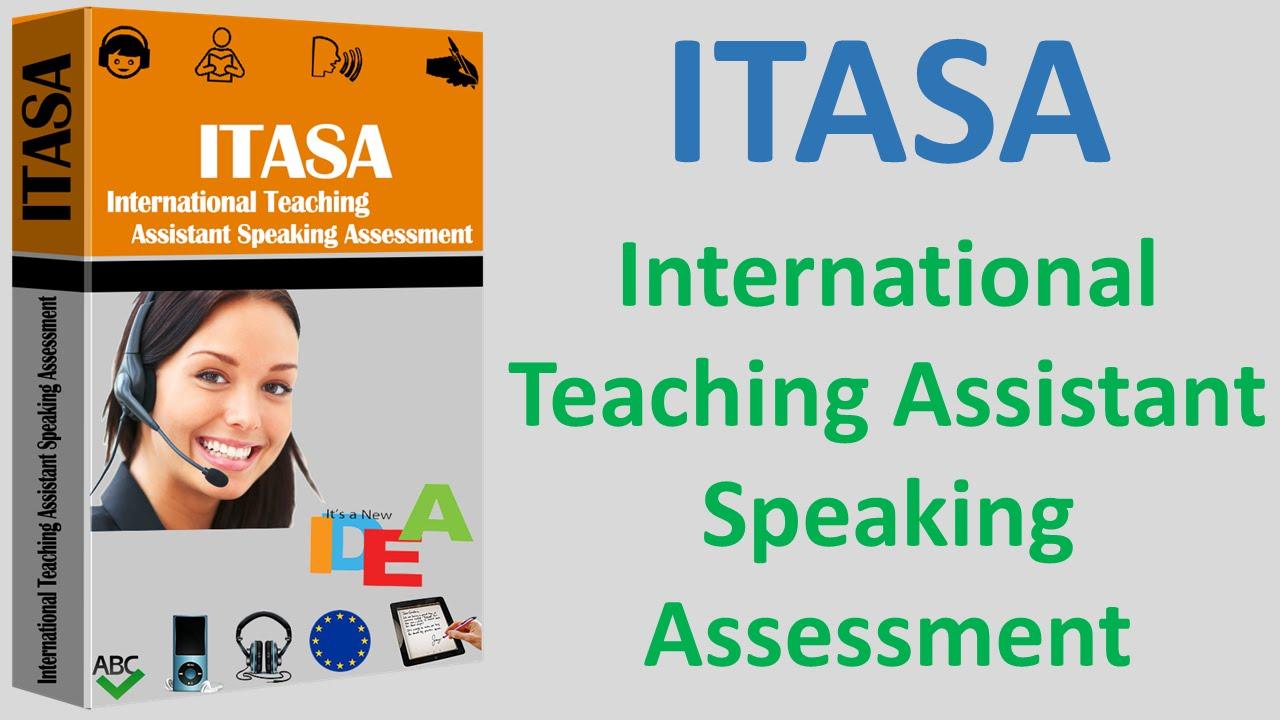 ITASA International Teaching Assistant Speaking Assessment Englisch ...