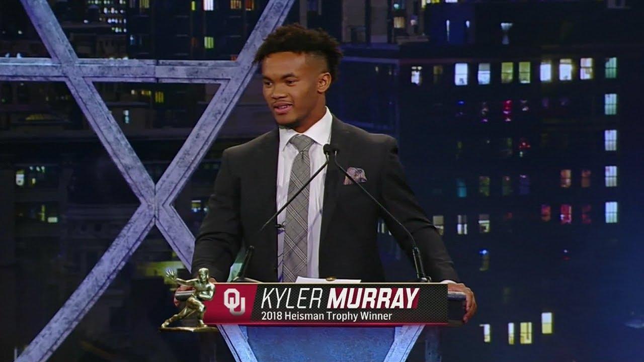 Kyler Murray | 2018 Heisman Trophy Ceremony