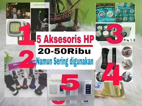 5 Aksesoris HP MURAH namun Sangat Berguna|| PAPA KEMBAR