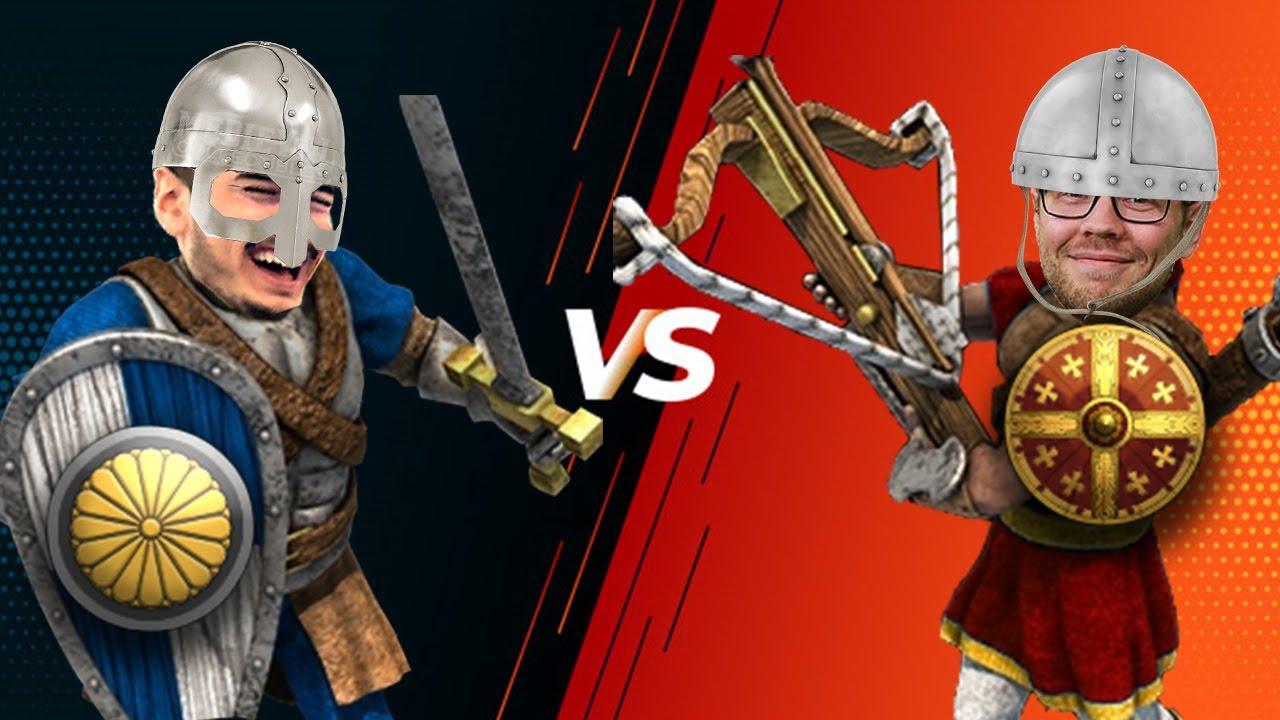 The Power of Japanese Man At Arms   1v1 vs Viper