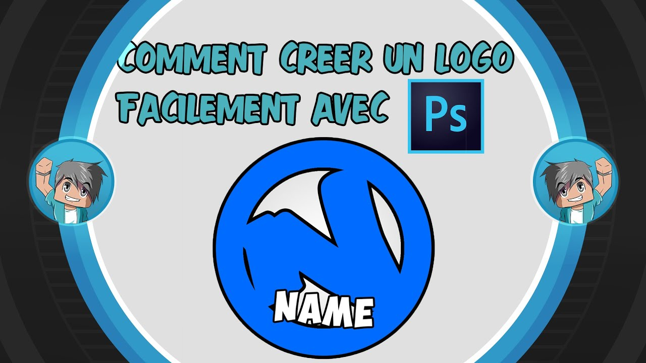 comment creer un logo facilement avec photoshop cc
