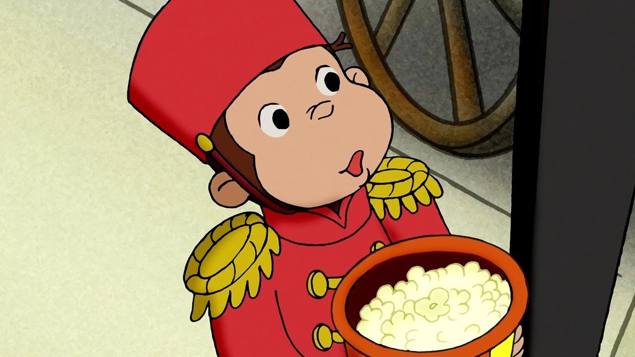 Curious George | Movie House Monkey / Cooking with Monkey | Full Episode | Cartoons for Children
