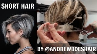 I CUT MY HAIR SHORT! | ANDREW DOES HAIR