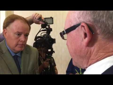 NY Jets Owner Woody Johnson On Mark Davis Las Vegas Presentation And Oakland #NFL