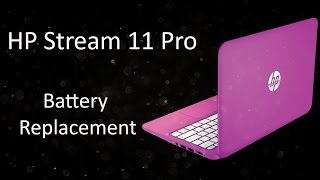 hp stream 11 pro notebook tpn q154 battery replacement