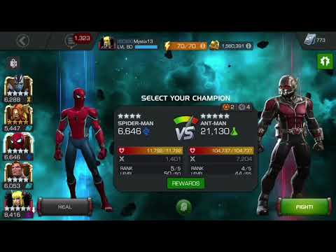 How to beat Antman in 5.3.4 the easy way.
